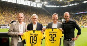 ESET als neuer Sponsor von Borussia Dortmund vorgestellt